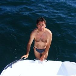 erstes Bad im Atlantik