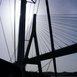 Verbindungsbrücke zwischen Portugal und Spanien