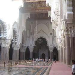 Innenraum Hassan-Moschee