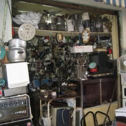 Elektrogeräte alt und neu