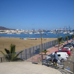 Ankern in Las Palmas