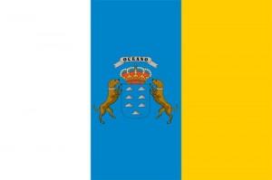 Flagge Kanarische Inseln