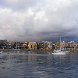 Ankerplatz in Las Palmas