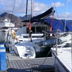 in der Marina Santa Cruz