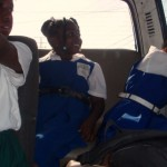 Busfahrt mit Schulkindern