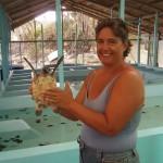 in der Schildkrötenfarm