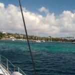 Einfahrt Blue Lagune