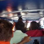 voll besetzter Bus