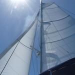 guter Segelwind