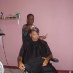 endlich beim Friseur