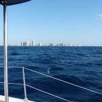 die ersten Hochhäuser von Palm Beach