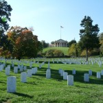 letzte Ruhestätte in Arlington