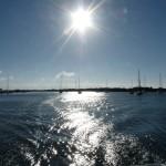 Beaufort verschwindet in der Morgensonne