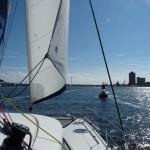 wir segeln in den ICW
