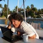 Kaffeetratsch via Skype  mit Ma und Pa