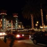 St. Augustine bei Nacht