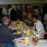 gemeinsame Thanksgiving-Feier