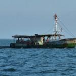 kubanisches Fischerboot