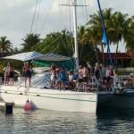 kein Flüchtlings- sondern ein Touristenschiff