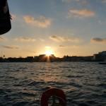 Aufbruch bei Sonnenaufgang