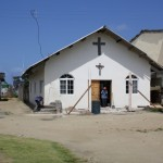 Kirche mit direktem Draht nach oben