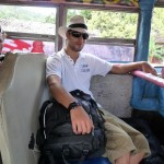 endlich im Bus