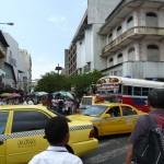 viel Verkehr in Panama City