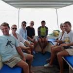 gemeinsame Bootstour