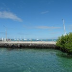 der Hafen von Puerto Vilam
