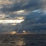 der lezte Morgen auf See