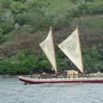 polynesisches Kanu