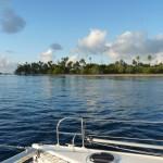 Einfahrt ins Atoll