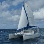 die Fidelio segelt mit uns