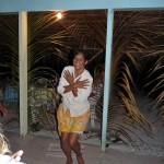 Anita gibt Tanzstunden