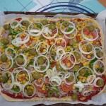 Abends gibt es Pizza