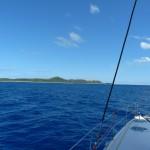 Aitutaki in Sicht