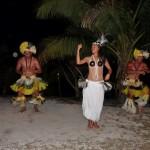 Tänzer in Aitutaki