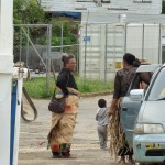 Tonganische Tracht