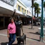 meine neue Freundin in Napier