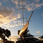 Blickfang vor dem Seefahrtsmuseum
