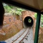 es gibt auch drei Tunnel