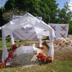 ein tonganisches Grab