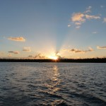 Abfahrt bei Sonnenaufgang