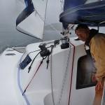 wir segeln auch im Regen