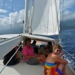 am Weg nach Taveuni