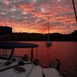 Abendstimmung in der Viani Bay