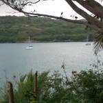 Ankerplatz vor der Insel Tanna