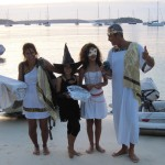 die Crew der Casulo in Tonga