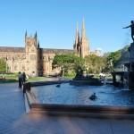 Blick auf St. Mary vom Hyde Park