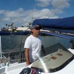 am Weg in die Marina